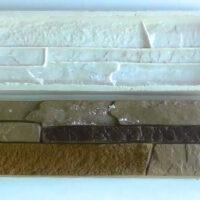Форма для изготовления искусственного камня из силикона и крахмала